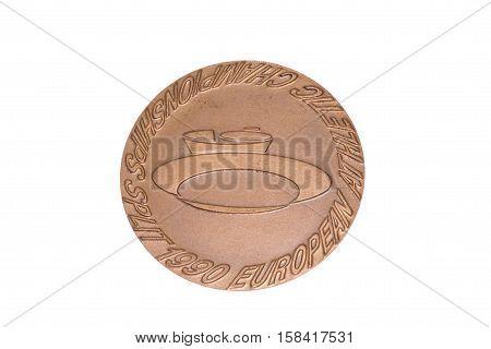 Split 1990 Athletics European Championships Participation Medal, Obverse. Kouvola, Finland 06.09.201