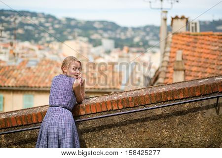 Girl In Cannes, France
