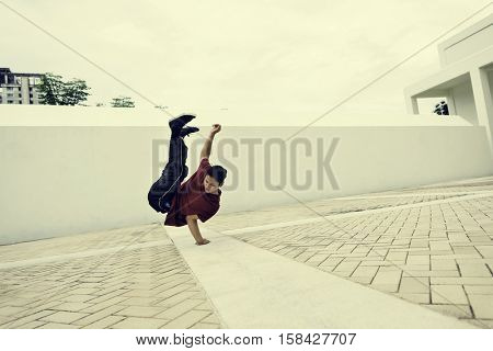Breakdance Teenager Style Movement Hiphop