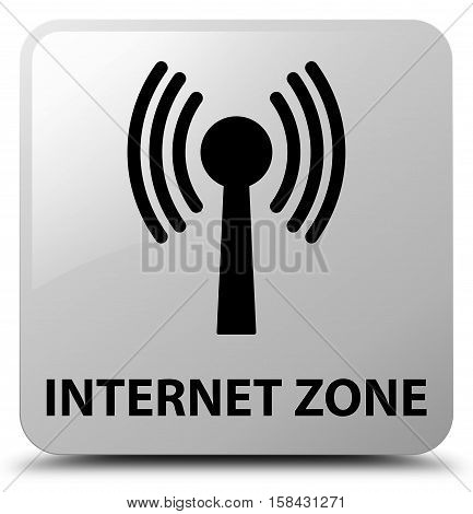 Internet Zone (wlan Network) White Square Button