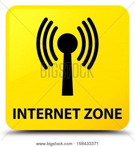 Internet Zone (wlan Network) Yellow Square Button