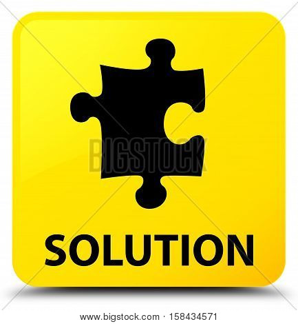 Solution (puzzle icon) on yellow square button