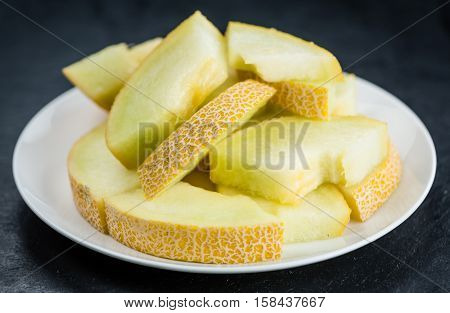 Honeydew Melon (selective Focus, Close-up Shot)