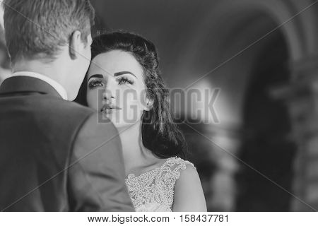 Young Bride Woman Brunette