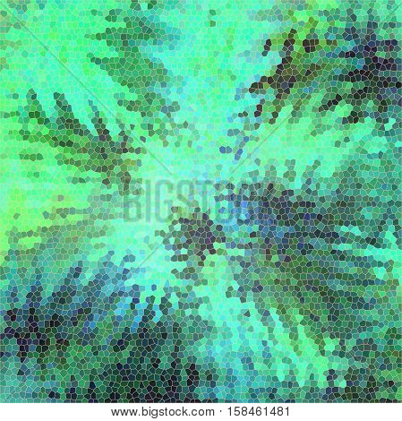 Abstract background of the abstract gradient with visual lighting, pinch, stained glass and wave effects,good for your project design