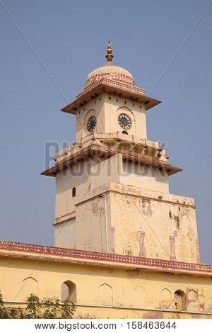 JAIPUR, INDIA - FEBRUARY 16: Jaipur City Palace, Rajasthan, India. Palace was the seat of the Maharaja of Jaipur, the head of the Kachwaha Rajput clan, on February 16, 2016.