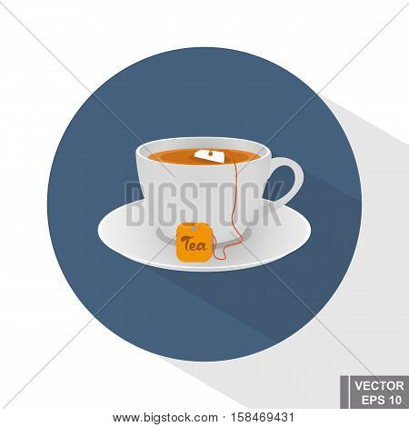 Tea. Cup. Hot Drinks. Vivacity. For Your Design.