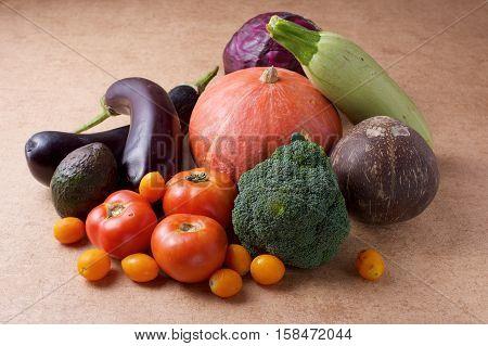 Organic Assorted Vegetable