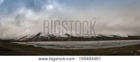 Shandur lake and pass Gilgit-Baltistan Province Pakistan