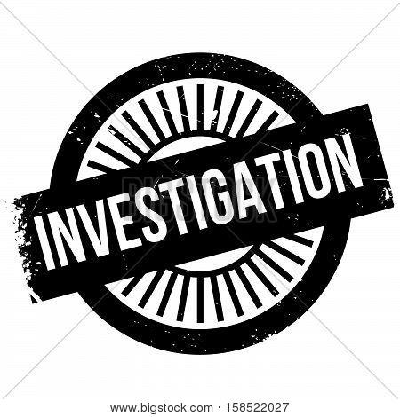 Investigation Stamp