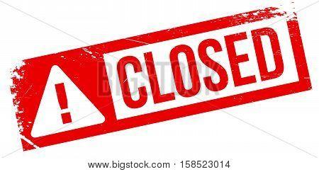 Closed Stamp