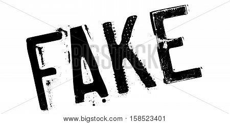 Fake Rubber Stamp