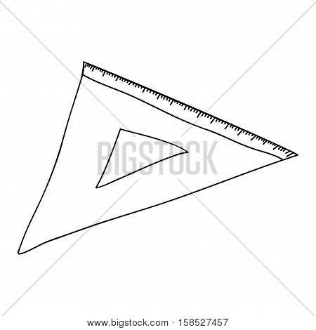 monochrome contour with rule squad vector illustration