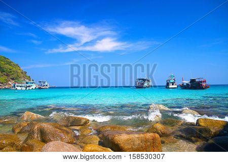 Beautiful Paradise Tropical Island, Koh Tao, Thailand