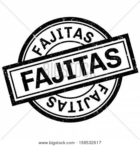 Fajitas Rubber Stamp