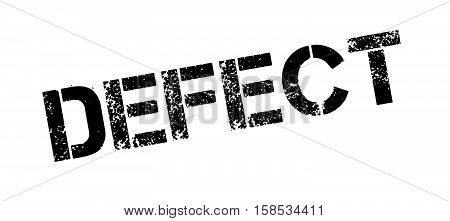 Defect Rubber Stamp