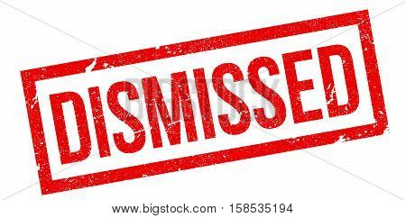 Dismissed Rubber Stamp