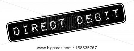 Direct Debit Rubber Stamp