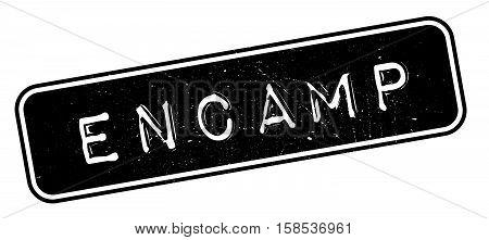 Encamp Rubber Stamp