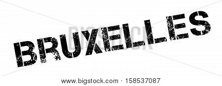 Bruxelles Rubber Stamp