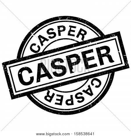 Casper Rubber Stamp