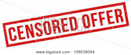 Censored Offer Rubber Stamp