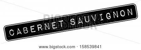 Cabernet Sauvignon Rubber Stamp
