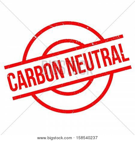 Carbon Neutral Rubber Stamp