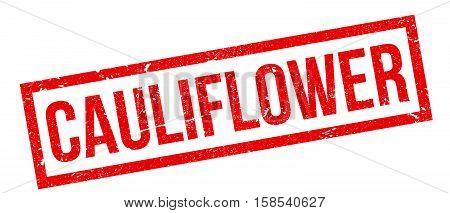 Cauliflower Rubber Stamp
