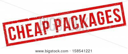 Cheap Packages Rubber Stamp