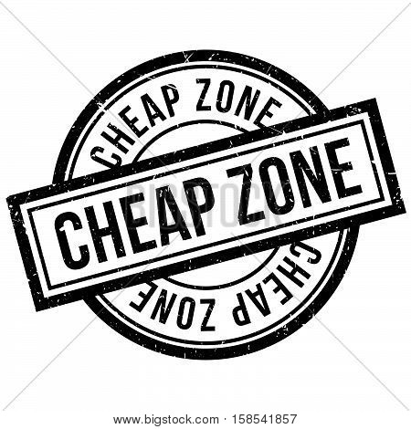 Cheap Zone Rubber Stamp
