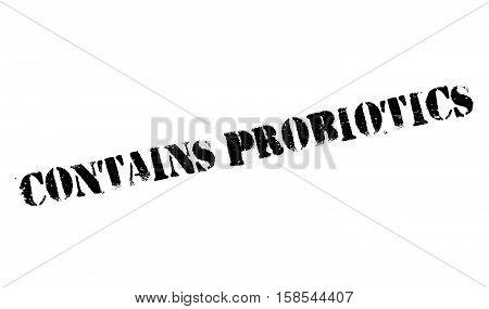 Contains Probiotics Stamp