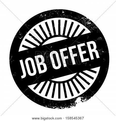 Job Offer Stamp