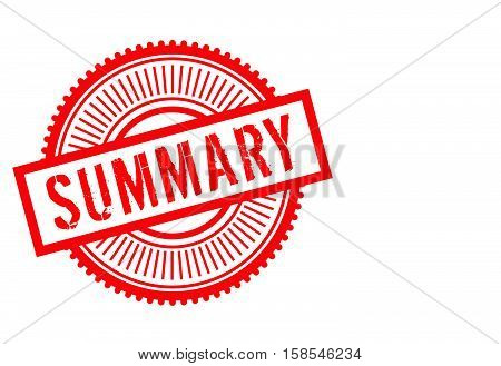 Summary Stamp