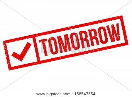 Tomorrow Stamp
