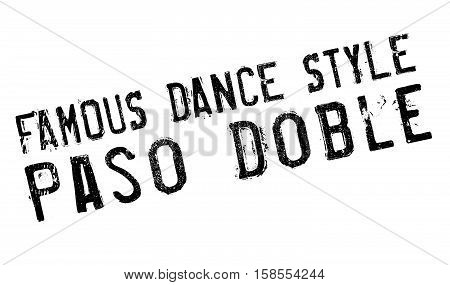 Famous Dance Style, Paso Doble Stamp