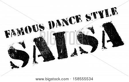 Famous Dance Style, Salsa Stamp