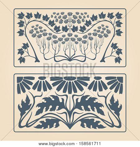 Vector Art Deco Pattern.