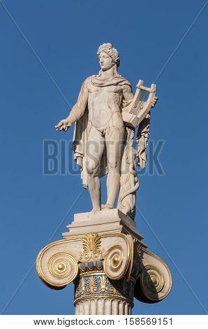 Classical Apollo God Statue