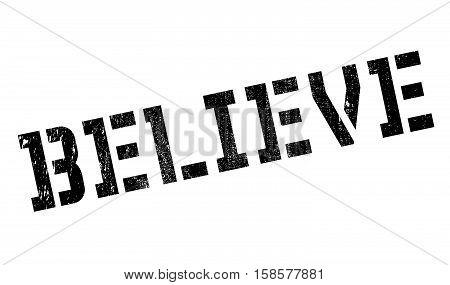 Believe Stamp
