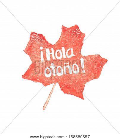 Hola otono meaning