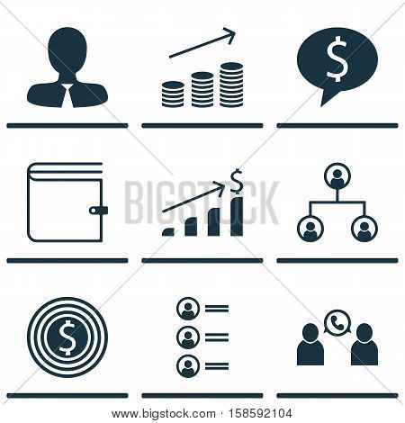 Set Of Human Resources Icons On Tree Structure, Business Goal And Business Deal Topics. Editable Vector Illustration. Includes Goal, Applicants, Employee And More Vector Icons.