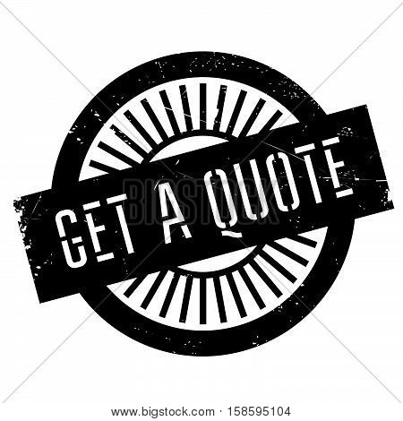 Get A Quote Stamp