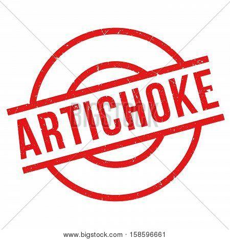 Artichoke Rubber Stamp