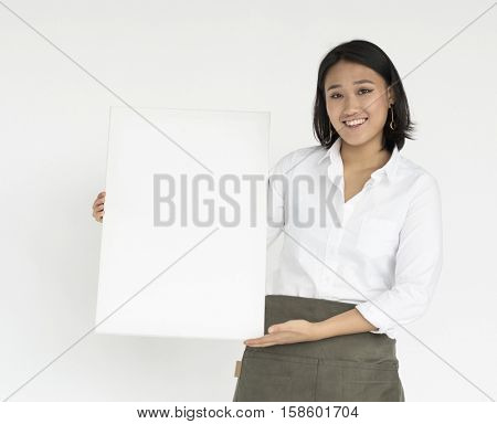 Waitress Woman Working Hospitality Apron
