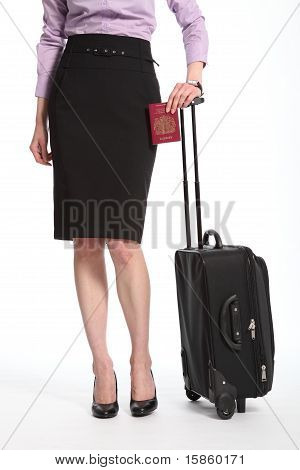 Travel for business woman