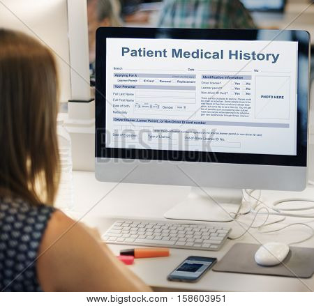 Patient Information Form Analysis Record Medical