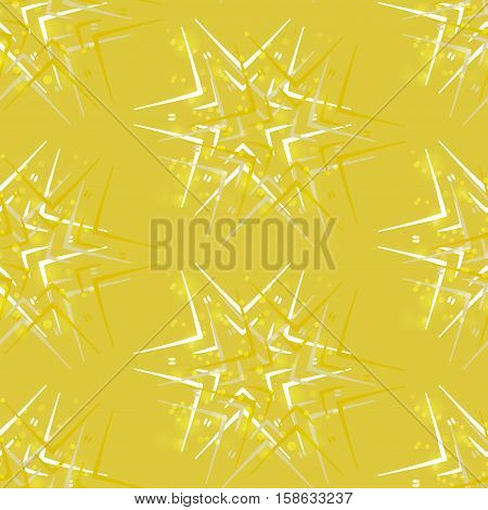 Abstract background greeting with stars vector seamless pattern