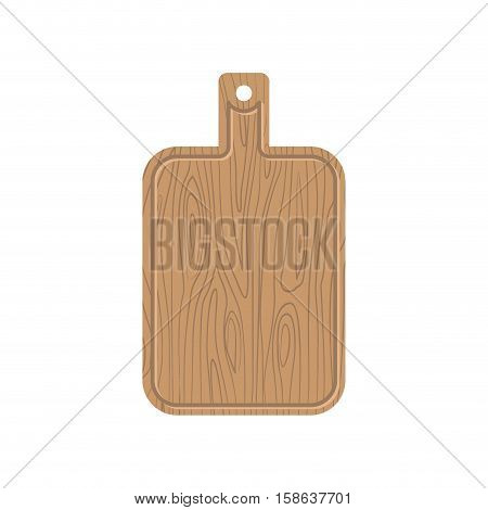 Cutting Board. Wooden Kitchen Plank. Kitchen Utensils For Cut Food