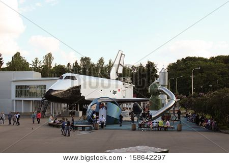 Russia, Moscow 25 May 2016, Soviet reusable spacecraft